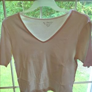 Used Chico women's shirt size 2 color gray